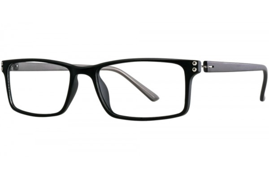 Aero F71 Eyeglasses in Black/Grey