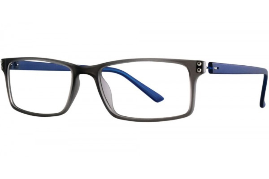 Aero F71 Eyeglasses in Grey/Navy