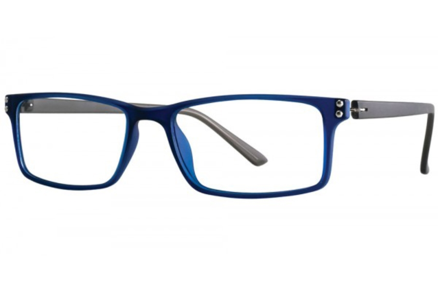 Aero F71 Eyeglasses in Navy/Grey