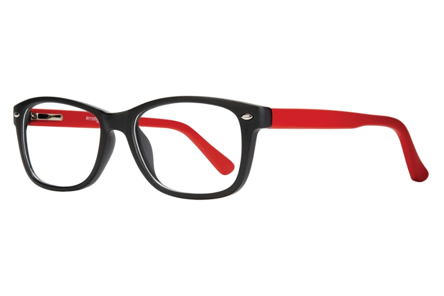 Affordable Designs Manny Eyeglasses in Red