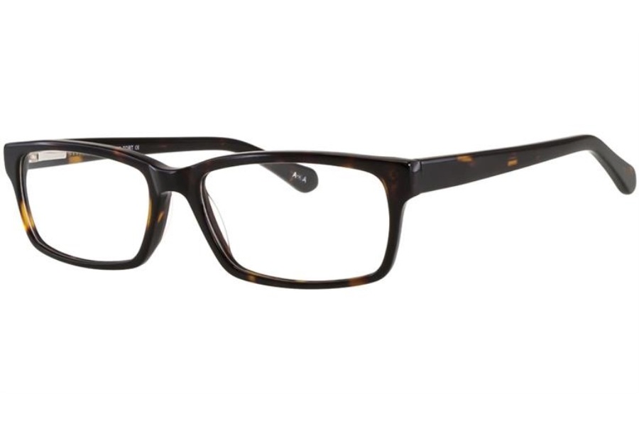 AKA 1384 Eyeglasses in Tortoise