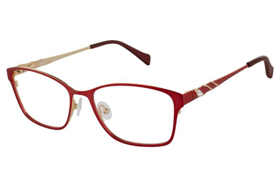 Alexander Collection Gillian Eyeglasses in Burgundy