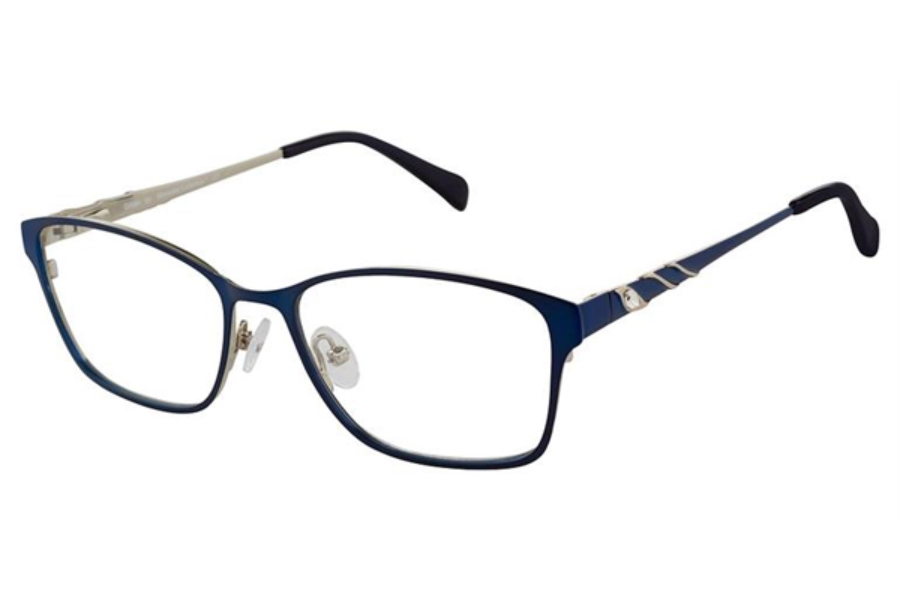 Alexander Collection Gillian Eyeglasses in Navy