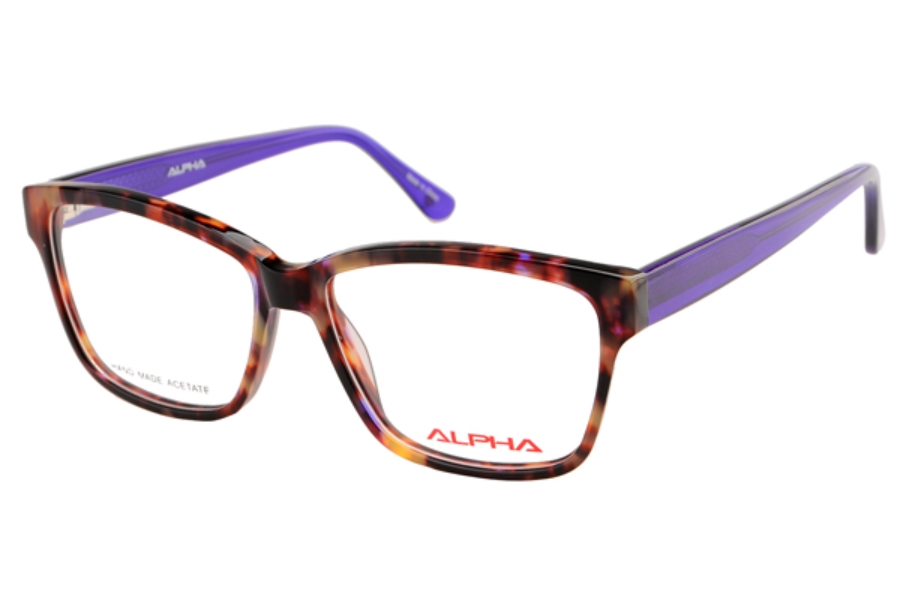 Alpha Viana 3054 Eyeglasses in Demi/Blue