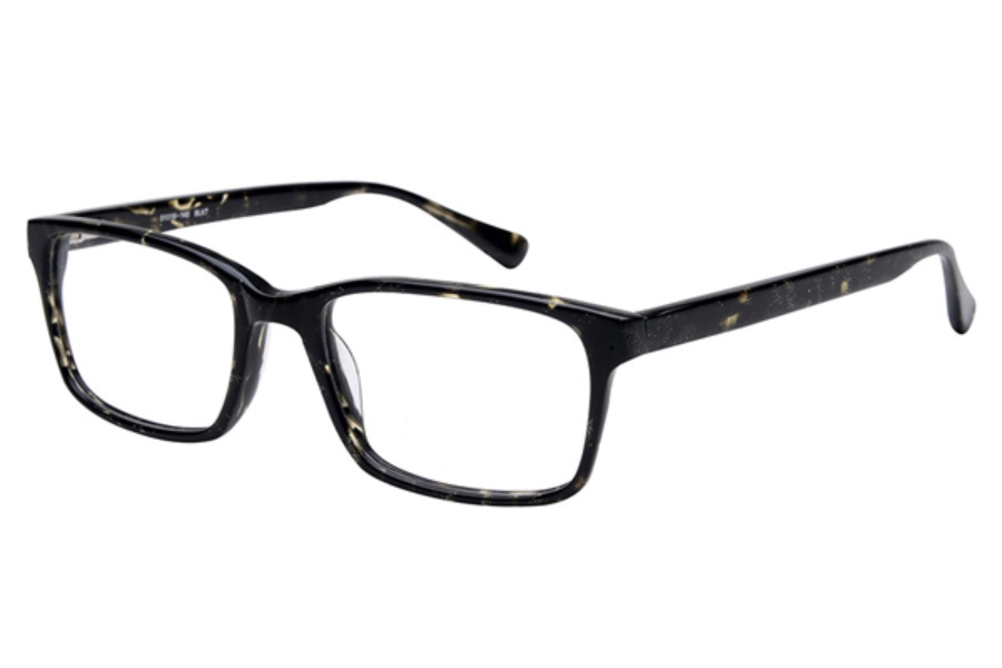 Amadeus A1000 Eyeglasses in BLKT Black Tort