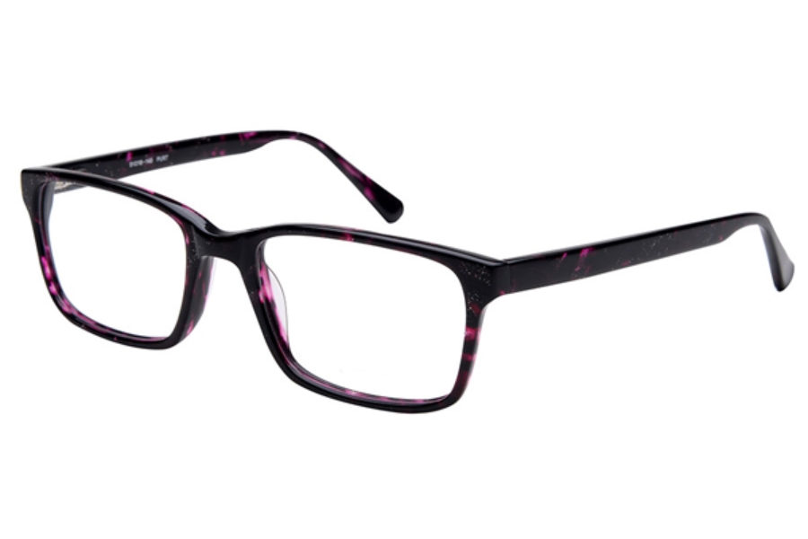 Amadeus A1000 Eyeglasses in PURT Purple Tort