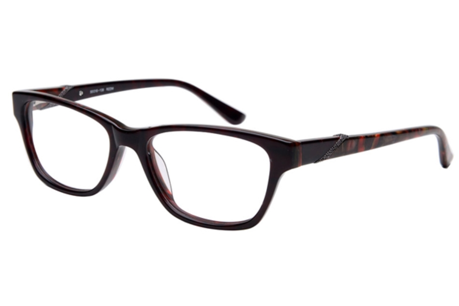 Amadeus A1002 Eyeglasses in REDM Red Marble