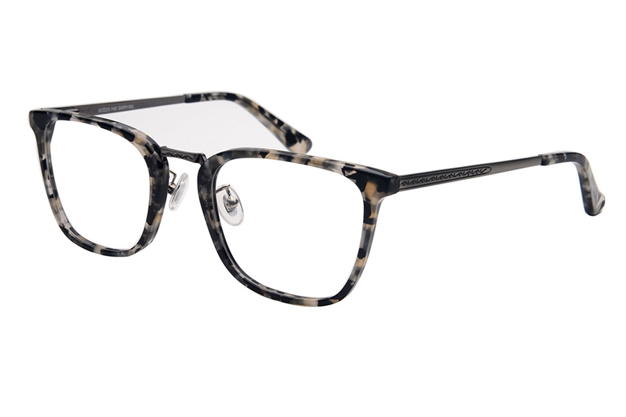 Amadeus A1008 Eyeglasses in DGRY/AS Gray Marble