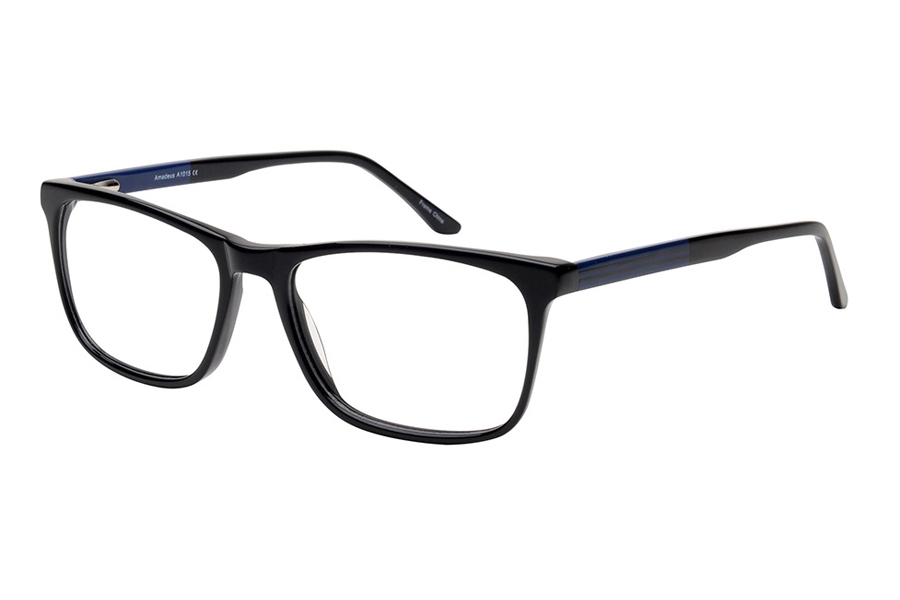Amadeus A1015 Eyeglasses in BLK Black