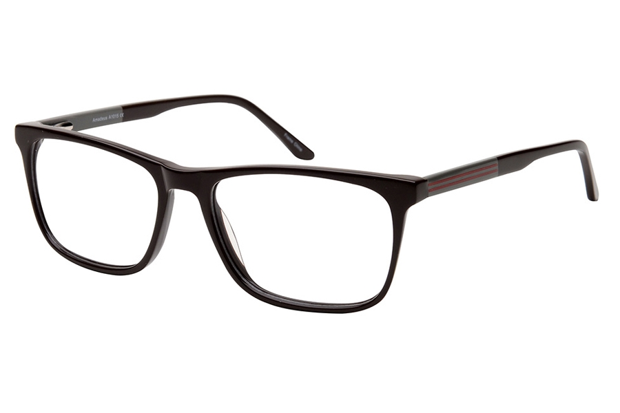 Amadeus A1015 Eyeglasses in BRN Brown