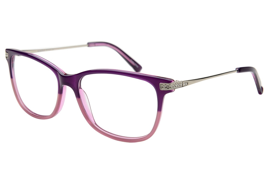 Amadeus A1021 Eyeglasses in PUR Purple Fade Pink