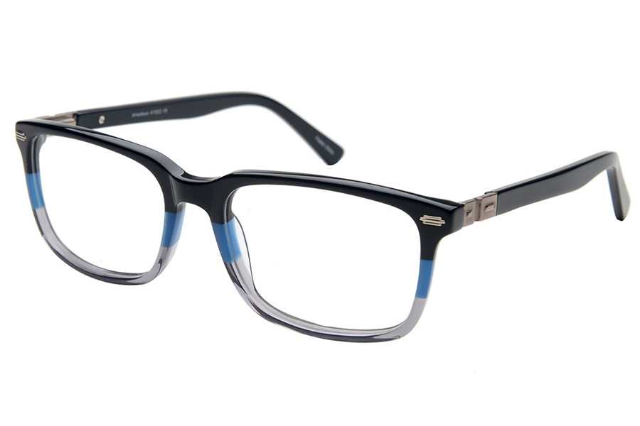 Amadeus A1022 Eyeglasses in BLU/GRY Blue Fade Gray