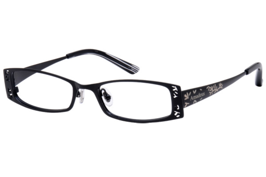 Amadeus A905 Eyeglasses in BLK BLACK