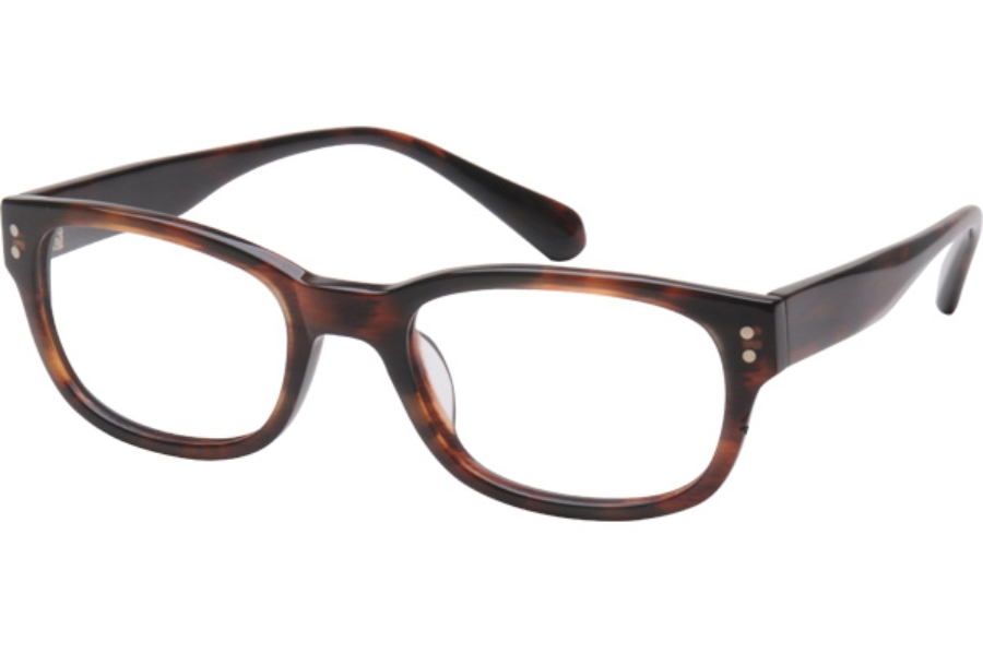 Amadeus A906 Eyeglasses in BRN BROWN