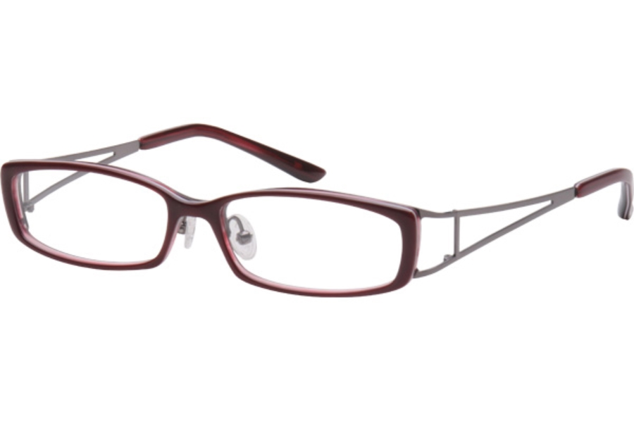 Amadeus A912 Eyeglasses in WN WINE