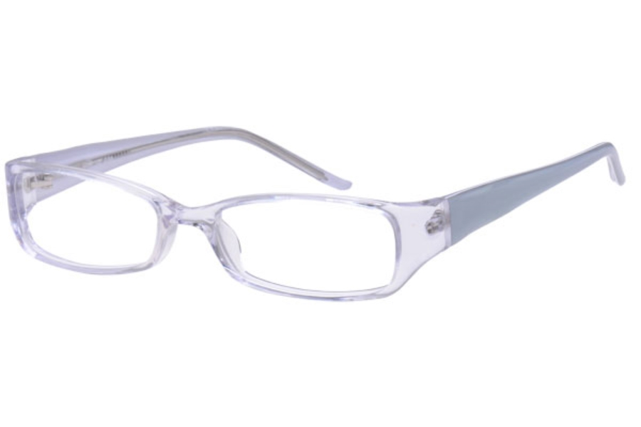 Amadeus A917 Eyeglasses in CRYSTAL/GREEN