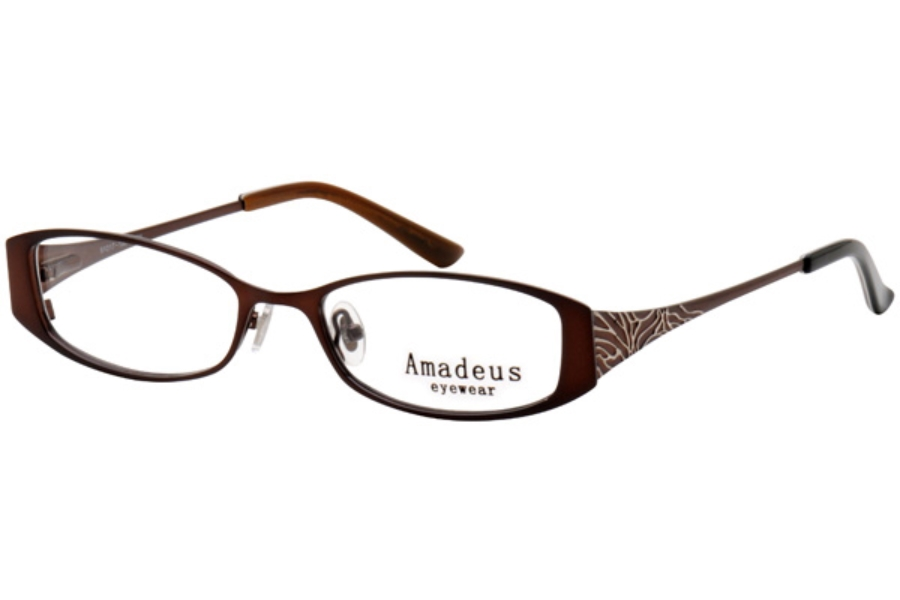 Amadeus A920 Eyeglasses in BRN BROWN