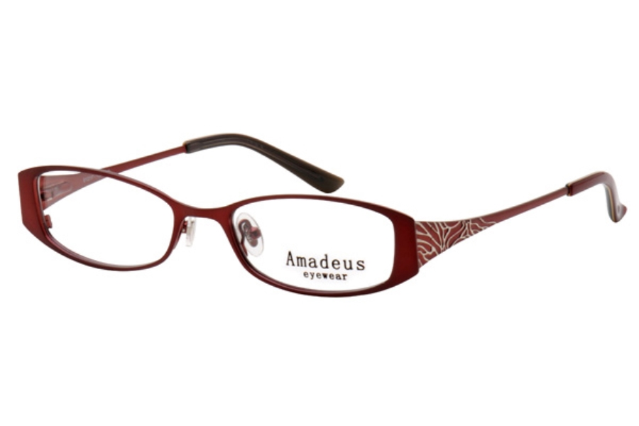 Amadeus A920 Eyeglasses in BG BURGUNDY