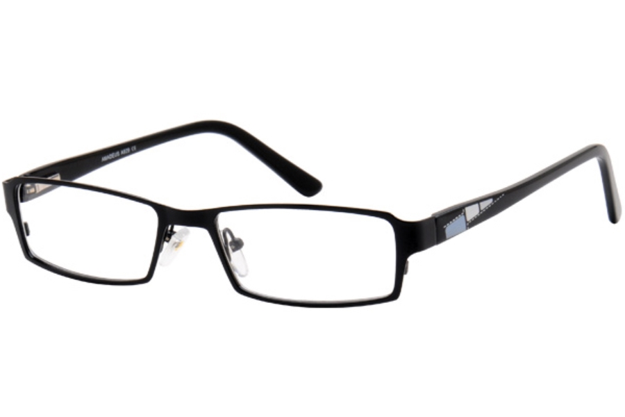 Amadeus A929 Eyeglasses in BLK BLACK