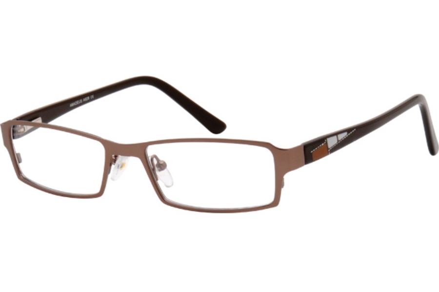Amadeus A929 Eyeglasses in MBR MATTE BROWN