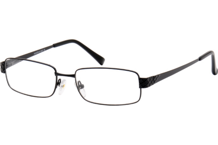 Amadeus A931 Eyeglasses in BLK BLACK