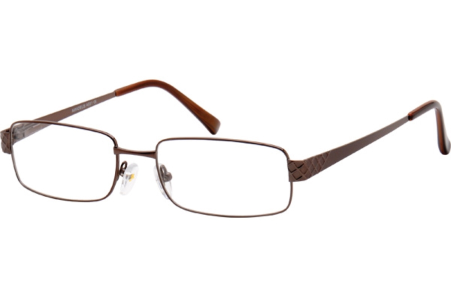 Amadeus A931 Eyeglasses in DBR BROWN