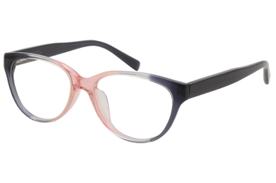 Amadeus A942 Eyeglasses in GRY/PK Grey Pink