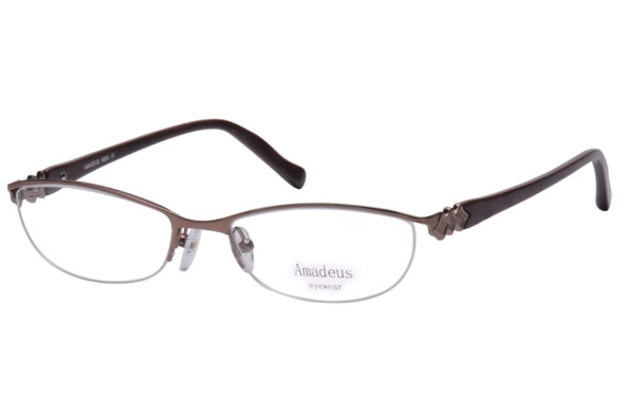 Amadeus A955 Eyeglasses in BRN BROWN