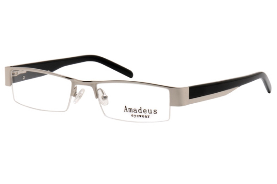 Amadeus A959 Eyeglasses in SIL SILVER