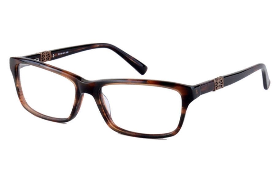 Amadeus A970 Eyeglasses in AMB Amber