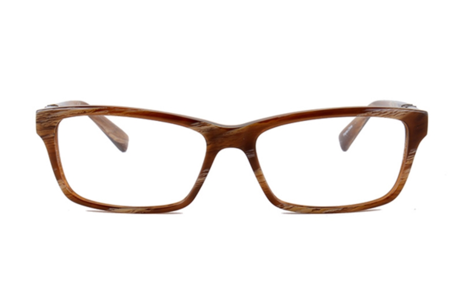 Amadeus A970 Eyeglasses in BHRN Brown Horn