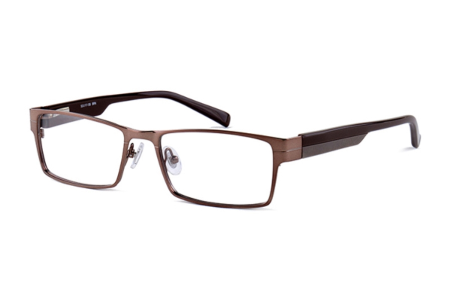 Amadeus A973 Eyeglasses in BRN Brown