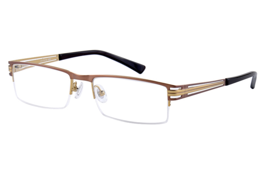 Amadeus A974 Eyeglasses in BRN Brown
