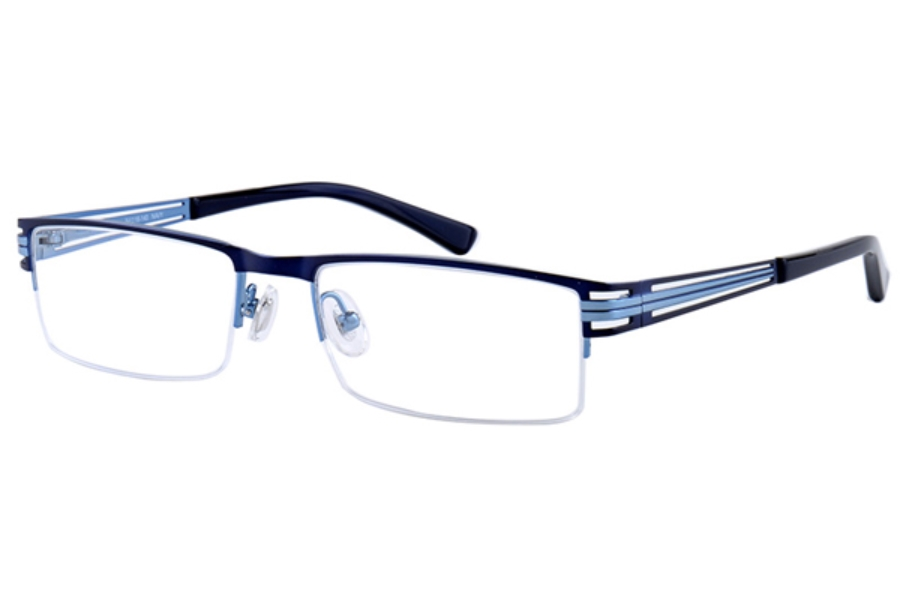 Amadeus A974 Eyeglasses in NAVY Navy