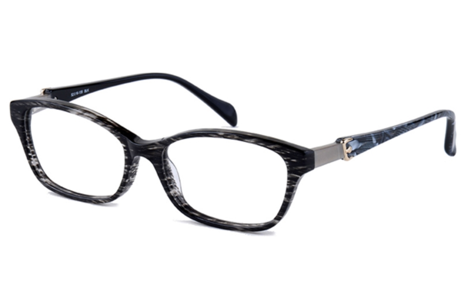 Amadeus A975 Eyeglasses in BLK Black
