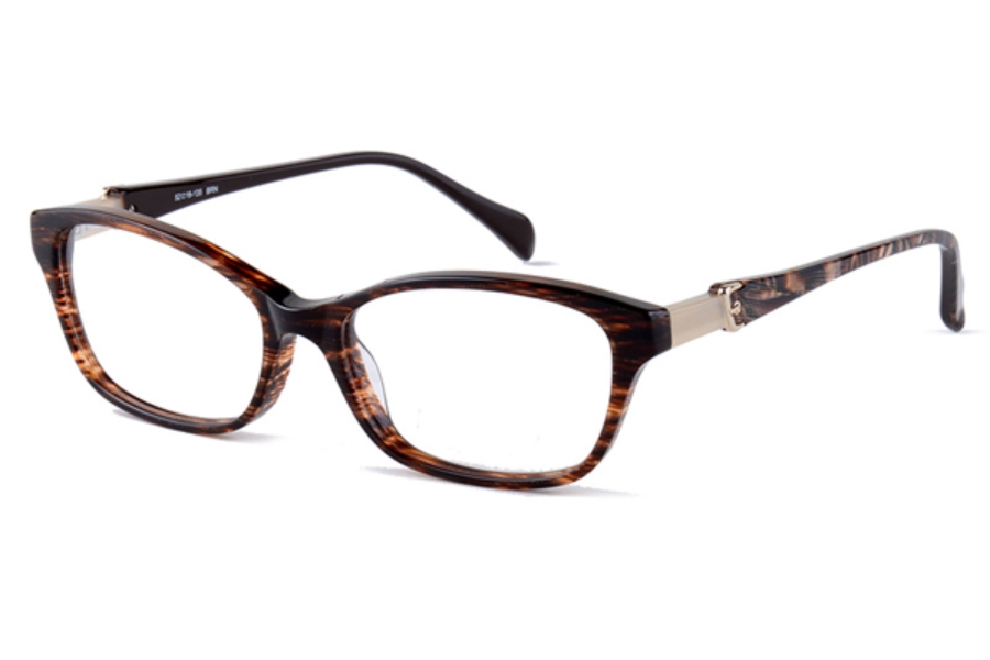 Amadeus A975 Eyeglasses in BRN Brown