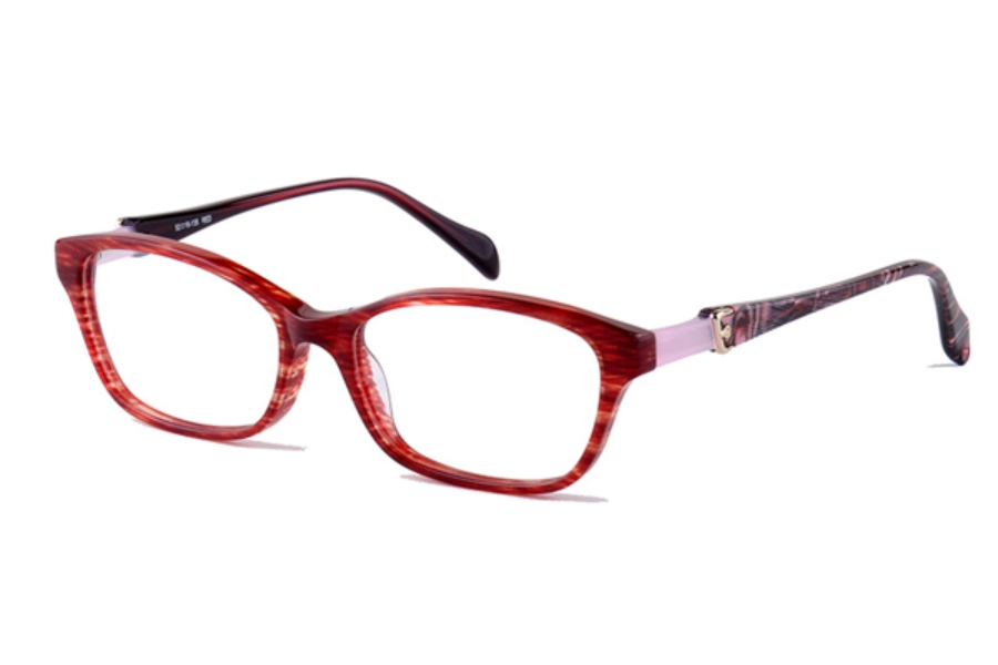 Amadeus A975 Eyeglasses in RED Red