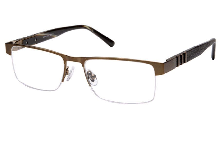 Amadeus A979 Eyeglasses in GLD Brushed Gold With Tortoise