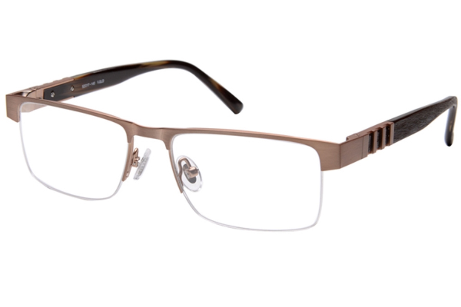 Amadeus A979 Eyeglasses in RGLD Brushed Rose Gold