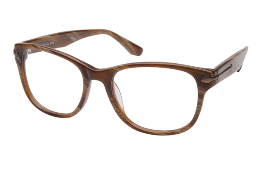Amadeus A982 Eyeglasses in DHAV Dark Havana w/Matte Brown