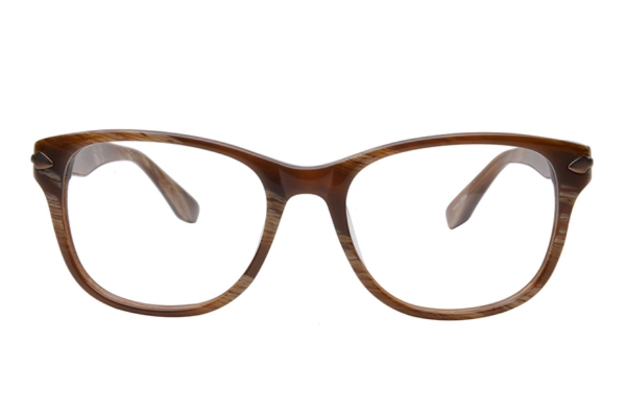 Amadeus A982 Eyeglasses in HAV Havana w/Matte Brown