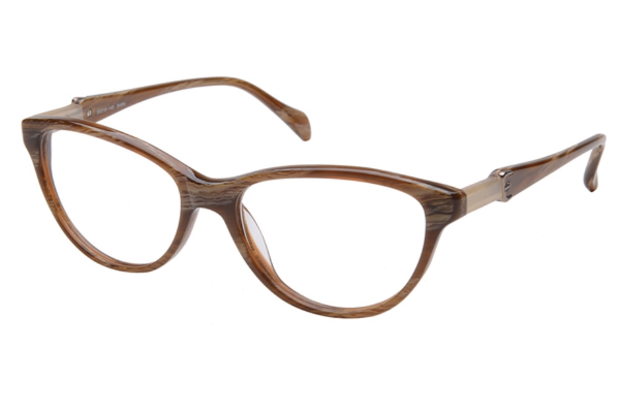 Amadeus A986 Eyeglasses in BHRN Brown Tort