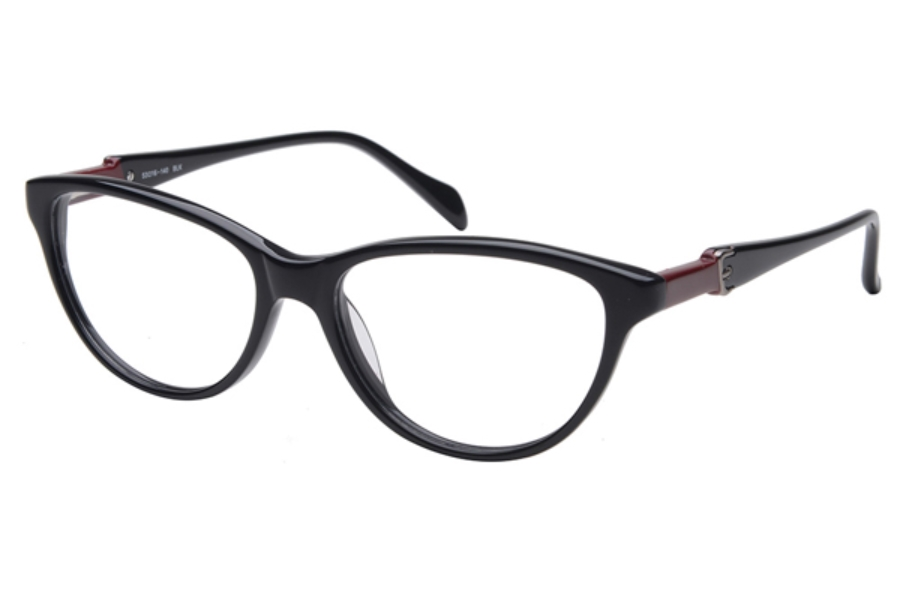 Amadeus A986 Eyeglasses in BLK Black