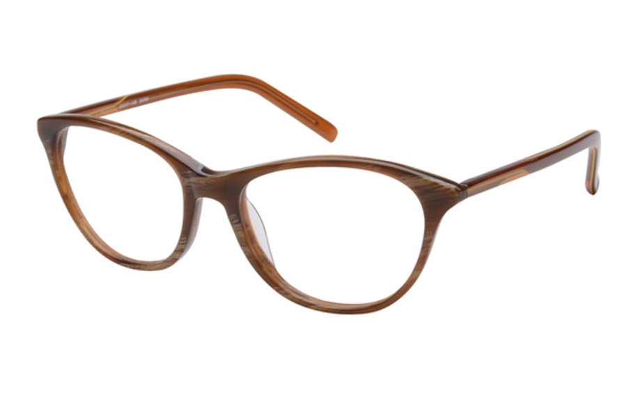 Amadeus A988 Eyeglasses in BHRN Brown Horn