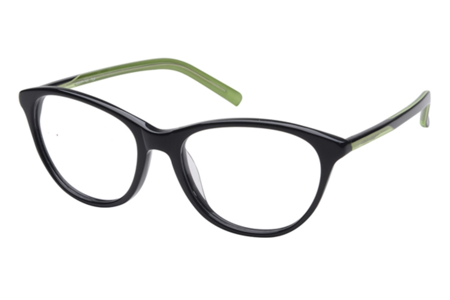 Amadeus A988 Eyeglasses in BLK Black