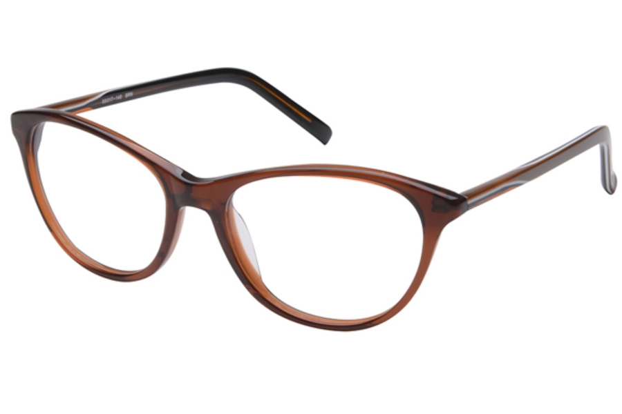Amadeus A988 Eyeglasses in BRN Brown