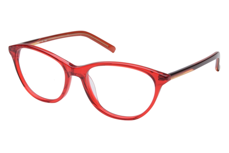 Amadeus A988 Eyeglasses in RED Red