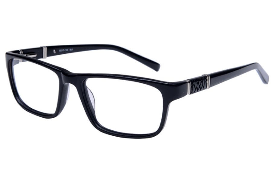 Amadeus A991 Eyeglasses in BLK Black