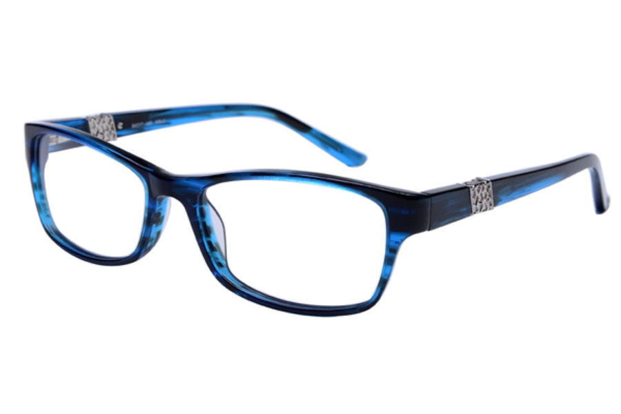 Amadeus A995 Eyeglasses in BLUS Blue Stripe