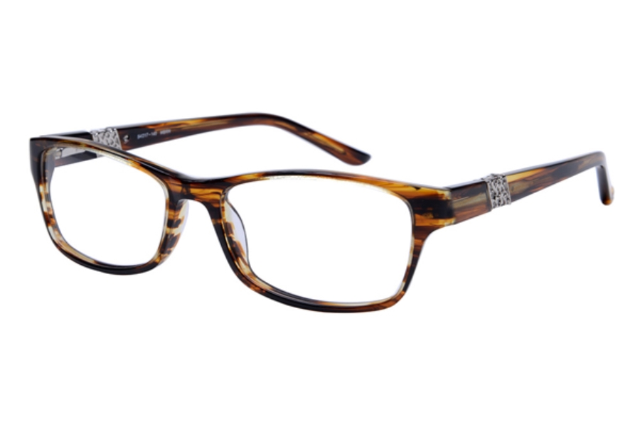Amadeus A995 Eyeglasses in BRNS Brown Stripe